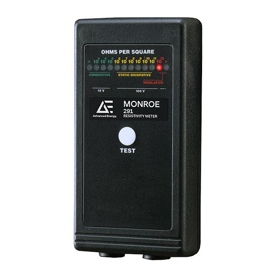Resistivity Meter for Electrostatic Discharge