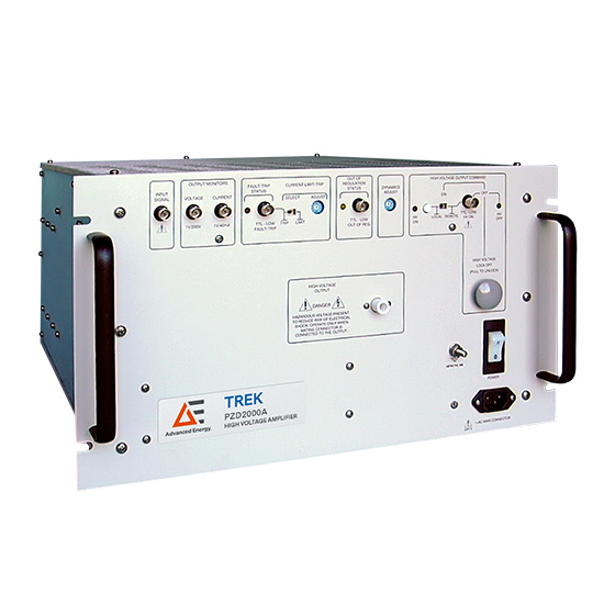 High Voltage Power Supplies - Amplifier